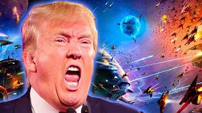 Donald Trump sta preparando il suo esercito guerra contro gli alieni