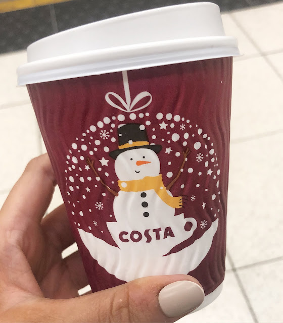 Lovelaughslipstick Blog Costa Coffee Christmas Cup