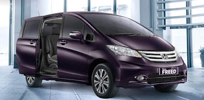 2016 Honda Freed MPV look