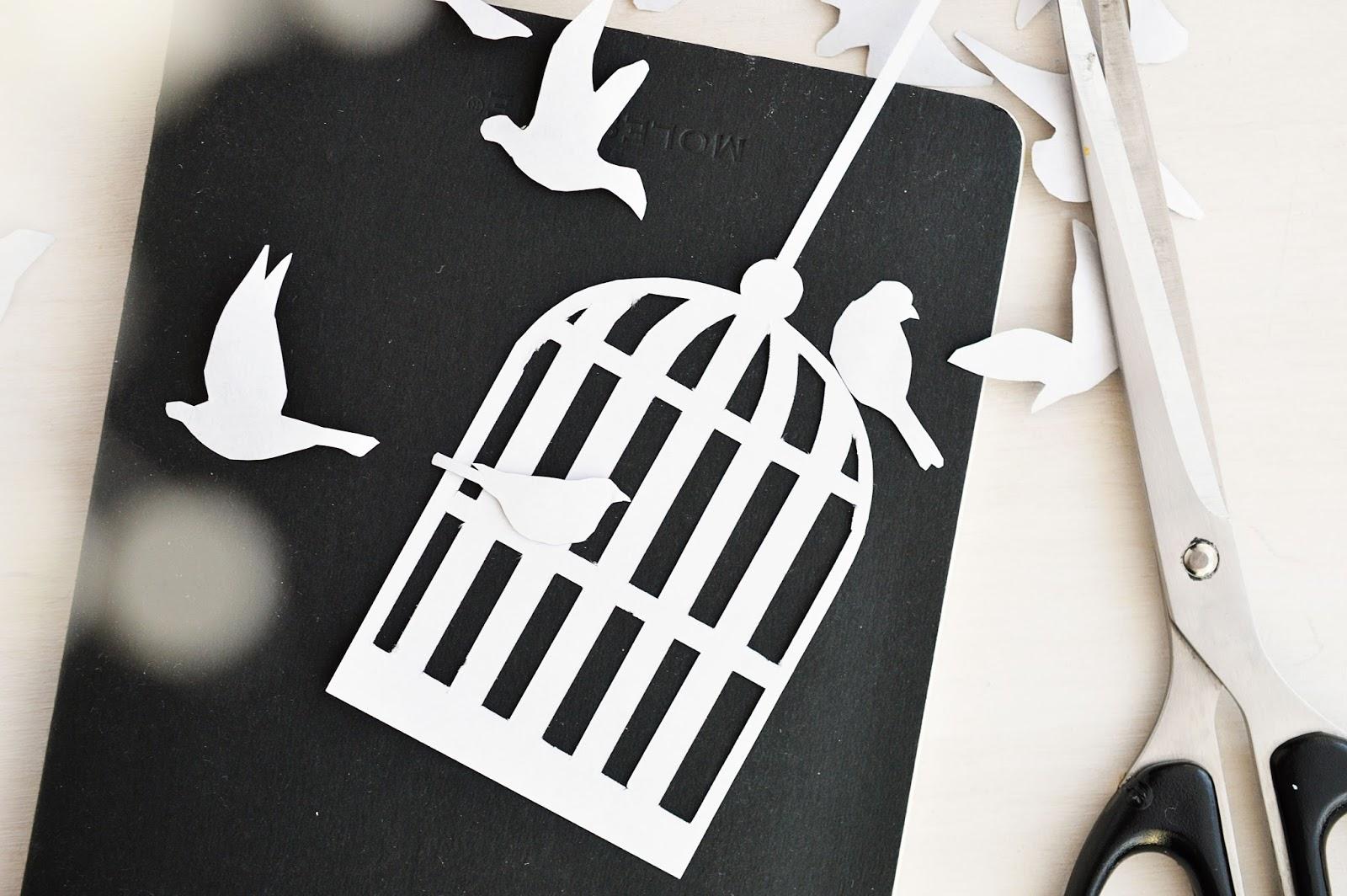 Paper Poetry 3 | Bird Cage | Henrik Ibsen | Motte's Blog