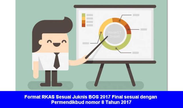 Format RKAS Sesuai Juknis BOS 2017 Final