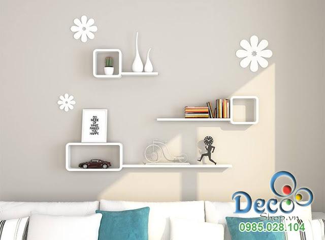Kệ gỗ treo tường Deco Kh37