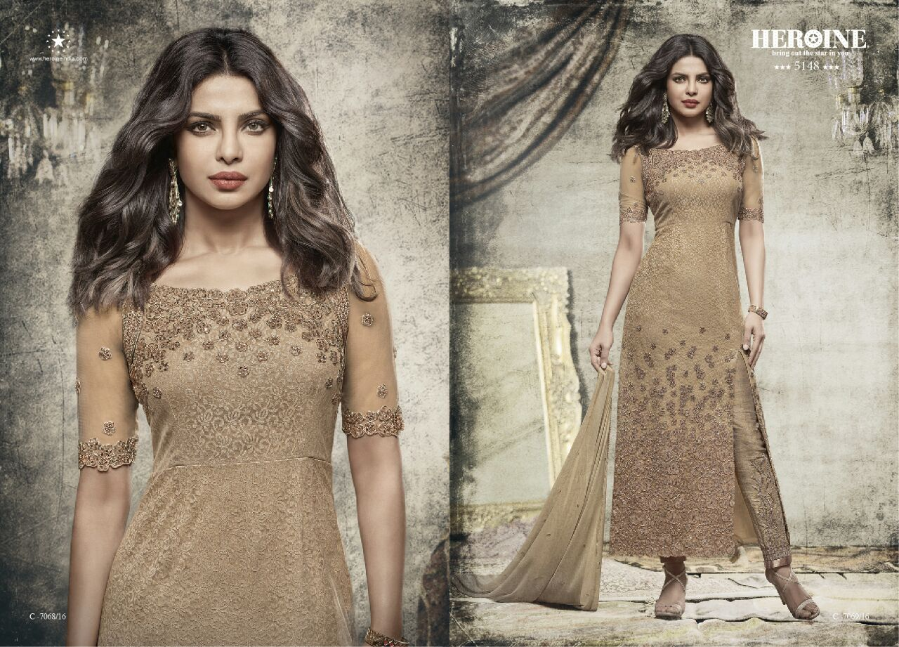 Heroine Stardiva – Dyed Georgette And Designer Unique Stylish Salwar Suit