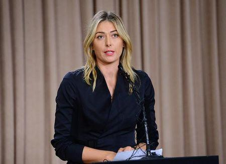 Maria Sharapova U.N. suspends as Goodwill Ambassador