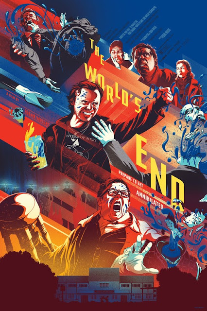 The World's End Standard Edition Screen Print by Kevin Tong