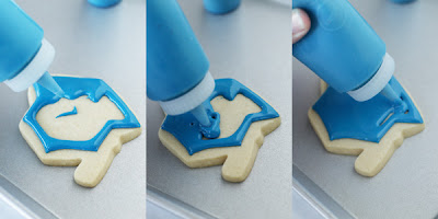 step by step how to decorate cookies