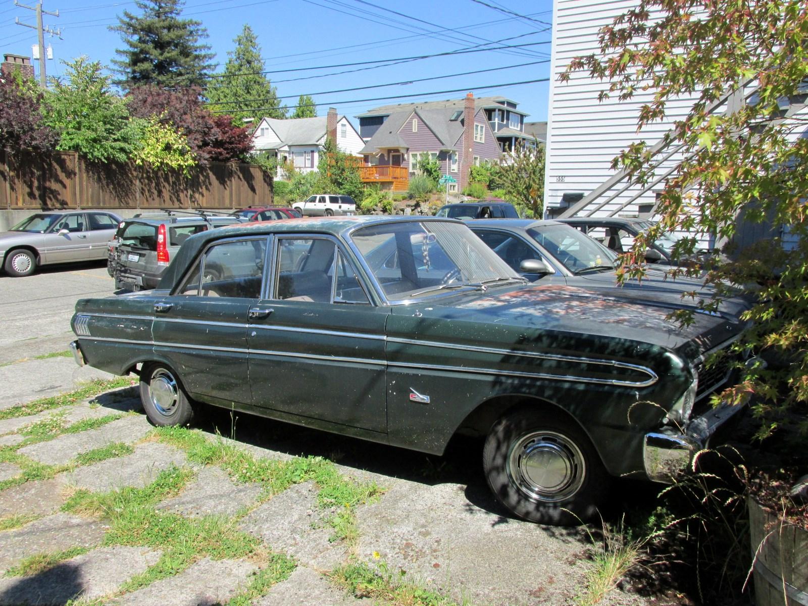 Seattle's Classics: 1964 Ford Falcon Futura Sedan