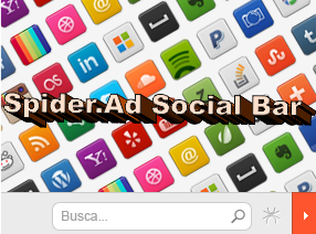 Colocar Widget Social Bar do Afiliado Spider.Ad