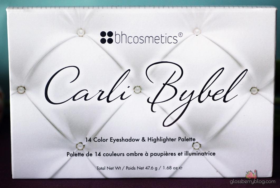 קרלי בייבל פלטת צלליות סקירה איפור נטול אכזריות ידידותי לבעלי חיים גלוסברי בלוג איפור וטיפוח BH Cosmetics - Carli Bybel Eyeshadow and Highlighter Palette,review swatches eyelooks