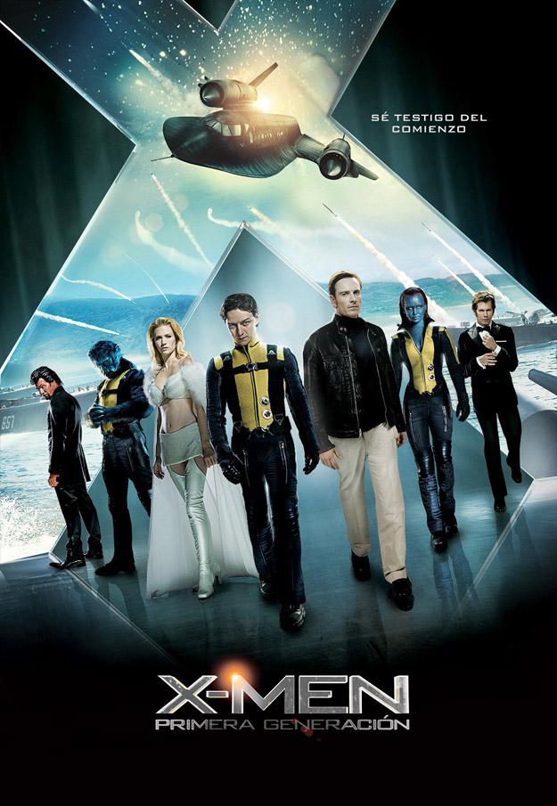 Poster de x-men: primera generación