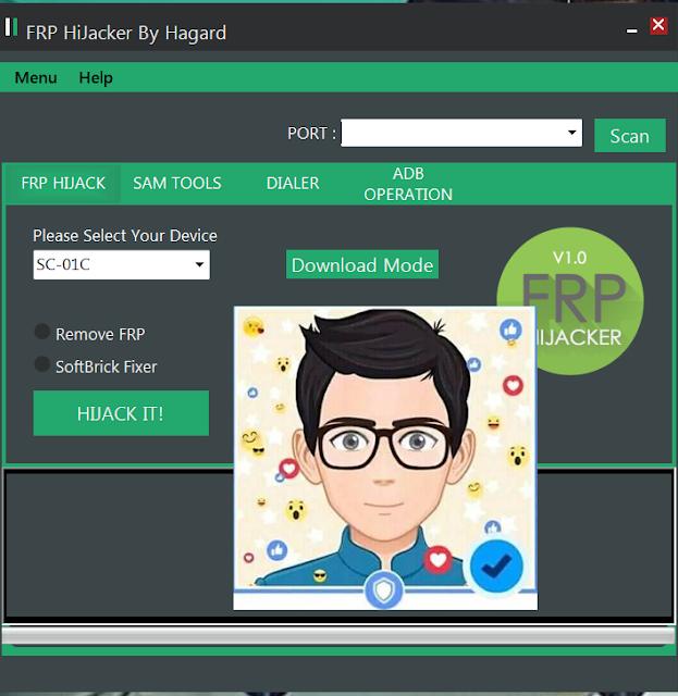 أداة رائعة لإزالة حساب قوقل اكونت FRP Tool لهواتف سامسونج بمميزات رهيبة