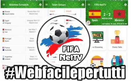 FIFA NetTV - App Per Guardare Gratis Tutte Le Partite di Russia 2018 su Android