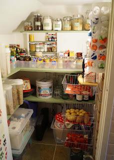 Kitchen Pantry Organized