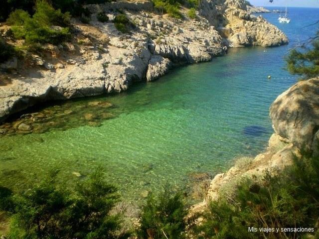 Cala Moltons, Ibiza
