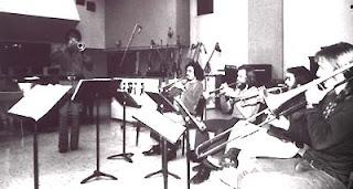 Bill, Jay Sollenbereger, , Jerry Van Blair, Russ Freeland (trombone)