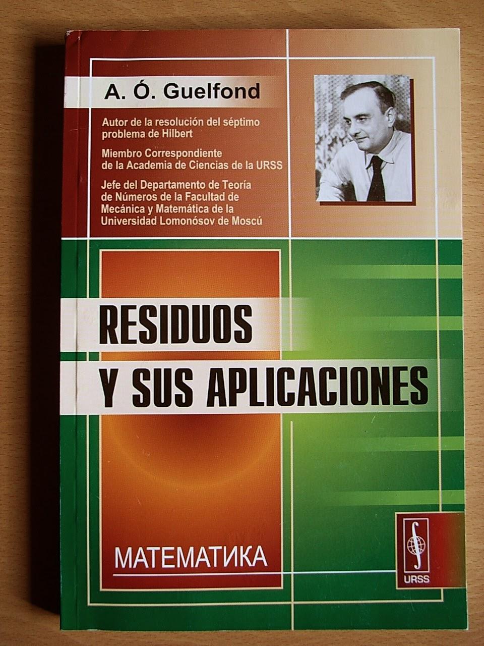 jarban02_pic044: Residuos y sus aplicaciones A. Ó Guelfond / Aleksandr Gelfond