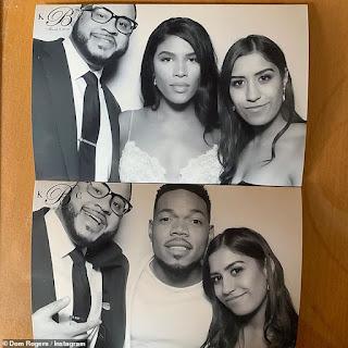 Chance The Rapper marries longtime girlfriend Kirsten Corley