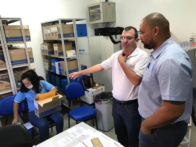 Senador Canedo: Presidente da Câmara visita o Centro de Especialidades