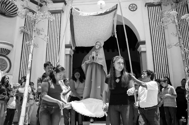 Virgen María tradiciones de Oaxaca