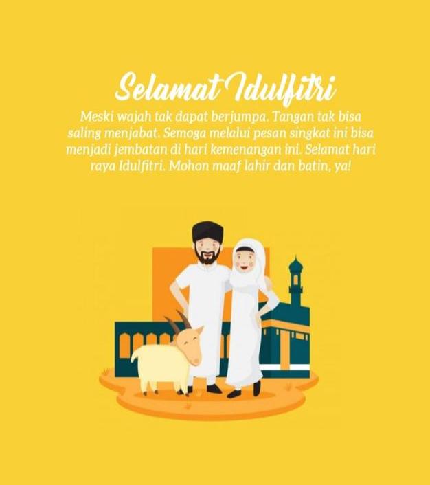 Daftar Desain kartu ucapan Selamat Lebaran & Idul Fitri - 3