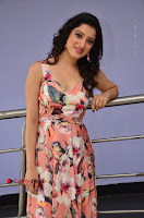 Actress Richa Panai Pos in Sleeveless Floral Long Dress at Rakshaka Batudu Movie Pre Release Function  0074.JPG