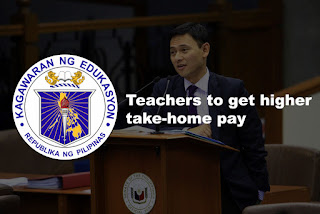 Angara: Teachers to get higher take-home pay