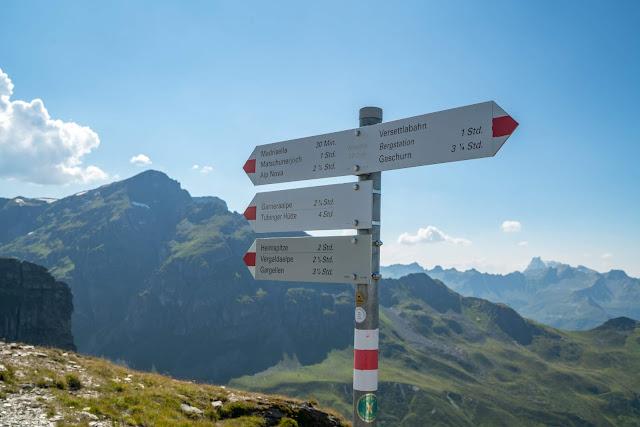 Gipfelweg Madrisella  Wandern Silvretta-Montafon  Vorarlberg 06