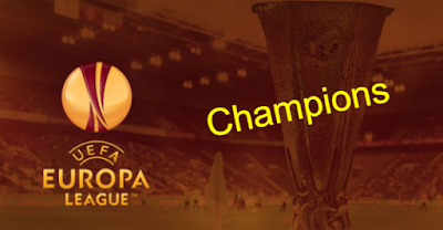 uefa europa league winners List-All-time champions teams 1971 - 2019
