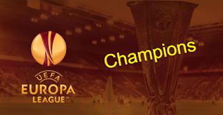 uefa europa league winners List-All-time champions teams 1971 - 2020