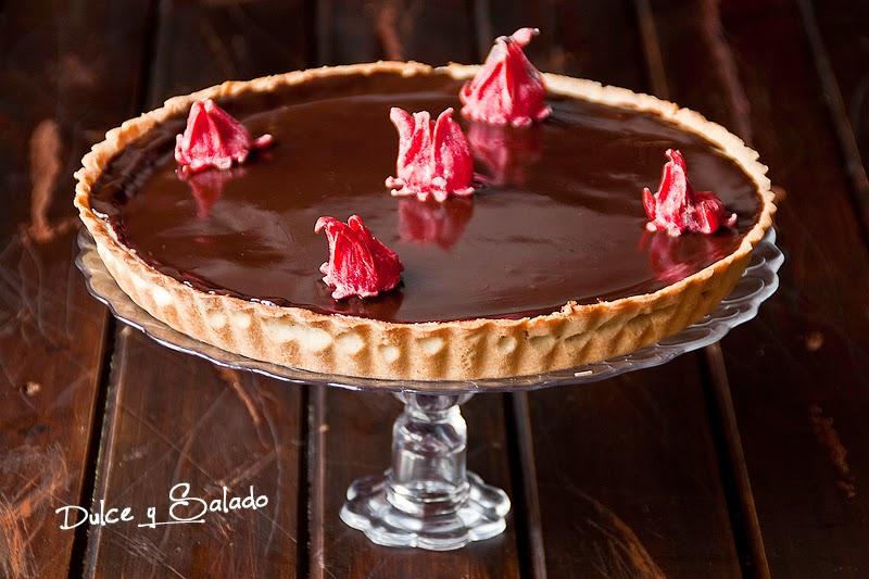 Tarta de Mascarpone, Nata Agria y Chocolate