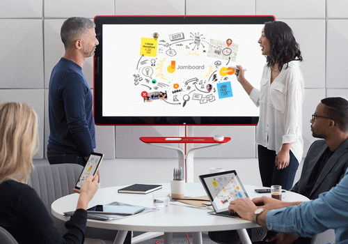 Tinuku Google launched Jamboard as sophisticated whiteboard