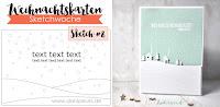 Kartenwind : Weihnachtskarte #kartenwind #weihnachtskartensketchwoche #danipeuss #weihnachtskartenkit #cardmaking #kartenbasteln #xmas #weihnachten #memorybox #diecutting