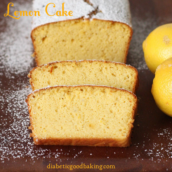 The Low Carb Diabetic Lemon Cake Low Carb