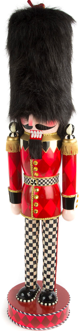 MACKENZIE-CHILDS GRAND BUCKINGHAM NUTCRACKER