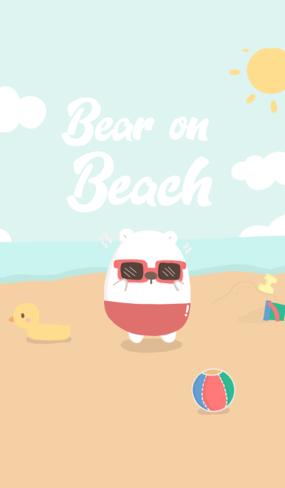 Bear on Beach