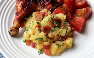 Food wishes video recipes grilled german potato salad warming up to a great summer side dish forumfinder