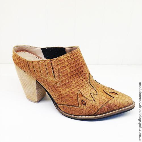 Botinetas verano 2017. Moda verano 2017 sandalias, zapatos y botas.