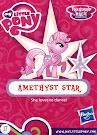 My Little Pony Wave 16A Amethyst Star Blind Bag Card