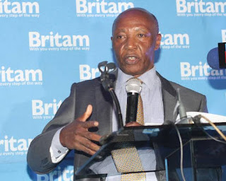 Britam Holdings Plc Group Managing Director Dr Benson Wairegi
