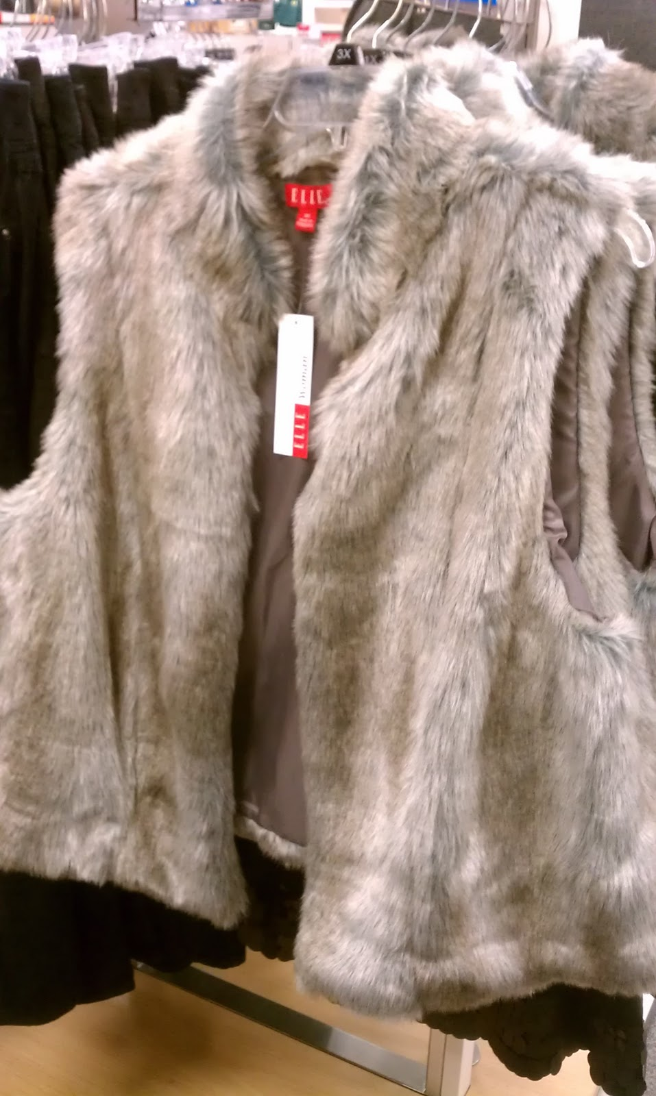 bfbe2b607e sale alert   perfect plus size faux fur vest - Life and Style of ...