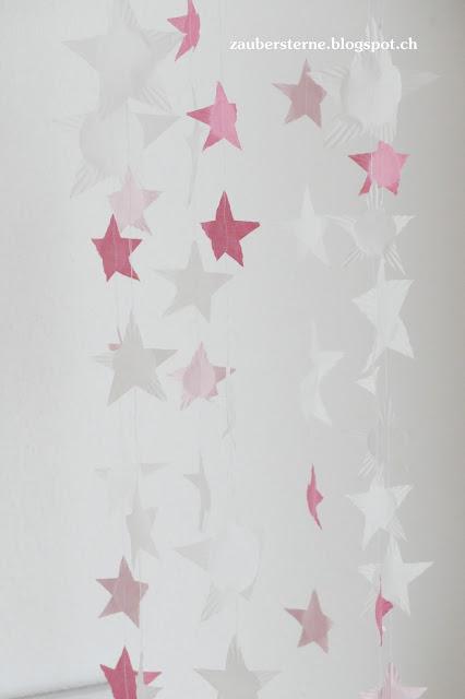 diy Sternenvorhang
