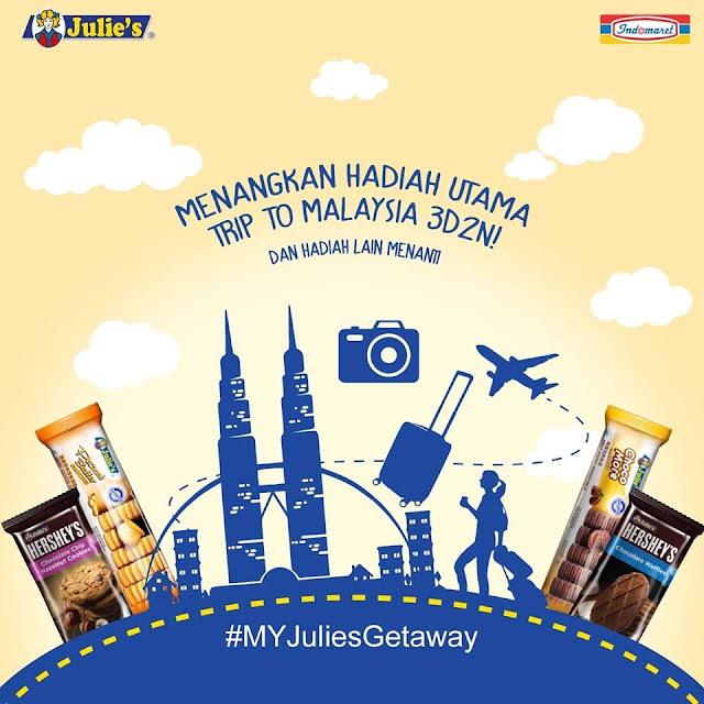 Kontes Foto dan Video Julie's Berhadiah Liburan Ke Malaysia