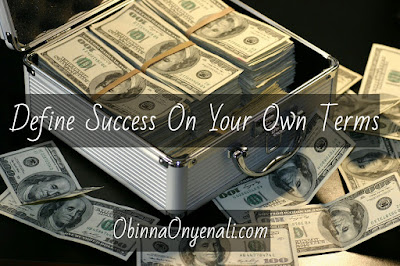 Define Success on Your Own Terms