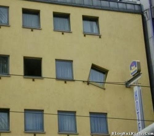 Ảnh vui cửa sổ hài hước
