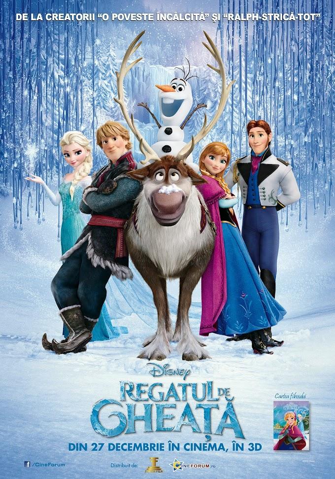 Regatul de gheaţă (2013) dublat în română