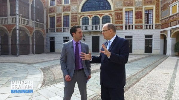Prince Albert's interview for In Depth with Graham Bensinger