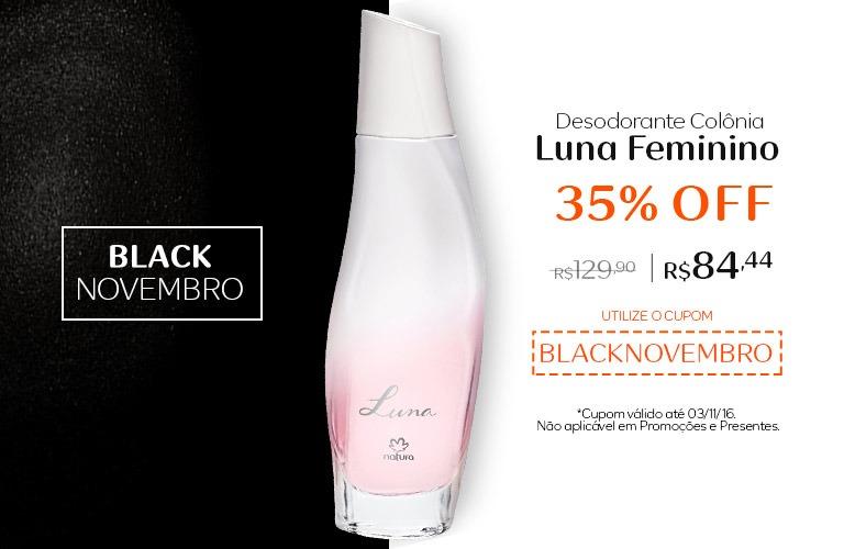 Desodorante Colonia Luna Feminino com 35% OFF!