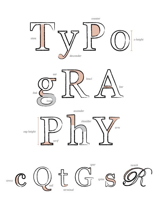 c2m's Marketing Matters: Typography Basics Cheat Sheet