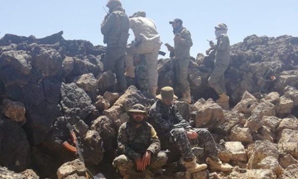 الجيش يبسط سيطرته على مناطق واسعة بعمق الجروف الصخرية بتلول الصفا في بادية السويداء