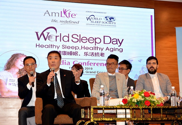 AmLife, AmPower Platinum Blanket, World Sleep Day 2019, AmLife Electric Potential Thermotherapy Mattress, AmPower Platinum Pillow, Healthy Sleep, Healthy Aging, Total Sleep Health Expert, Life, Redefined, Lifestyle